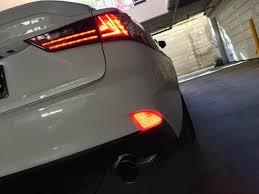 lexus is250 f sport led lights amazon com ijdmtoy 2 oem red lens 69 smd red led bumper