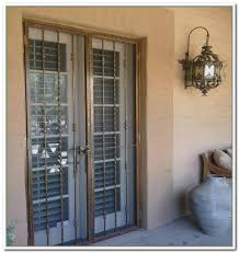 Patio Door Security Gate For Residential Applications Resultado De Imagen Para Metal Security Double Doors Puertas