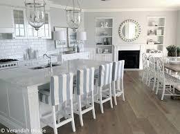 All White Kitchen Cabinets Best 25 White Coastal Kitchen Ideas On Pinterest Beach Kitchens