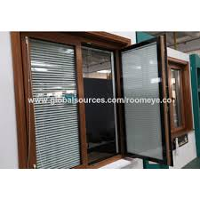 Window With Blinds China Inward Opening Window With Blinds On Global Sources
