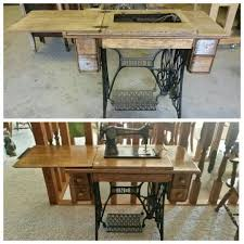 Sewing Machine Cabinet Plans by 13 Best Refinish Old Sewing Machines Images On Pinterest Sewing
