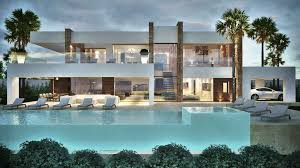 modern villas marbella villas for sale in marbella pools 4