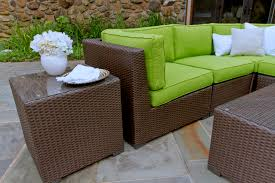 Wicker Sectional Patio Furniture by Sonoma Outdoor Wicker Sectional Collection