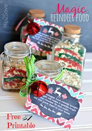 magic reindeer food free printable labels magic reindeer