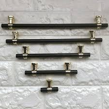 kitchen cupboard handles in black modern kitchen cabinet handles black gold pulls knobs