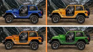 jl jeep diesel leaked dealer info shows 2018 jeep wrangler paint options include