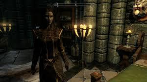 quilue dark elf woman save game at skyrim nexus mods and