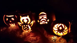 decorating ideas minimalist kid spiderman pumpkin carving lantern