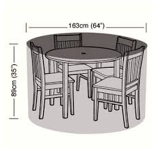 Patio Dining Set Cover Dining Bistro Set Garden Furniture Covers