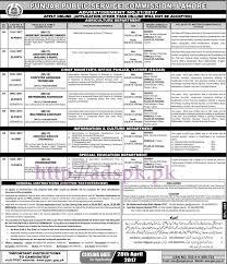 ppsc new jobs ad no 21 2017 jobs written test syllabus mcqs