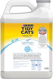 tidy cats lightweight glade tough odor solutions clear springs