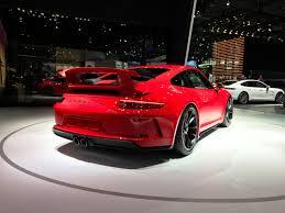 porsche 911 gt3 front 2017 nyias 2018 porsche 911 gt3 gets 500 hp autonation drive