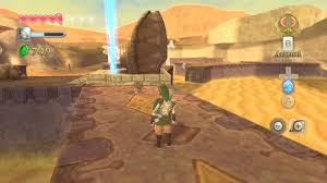 Skyward Sword Map Skyward Sword Walkthrough Desert Gorge And Activation Of The