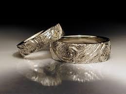 unique wedding band ideas unique wedding and engagement rings jim dailing