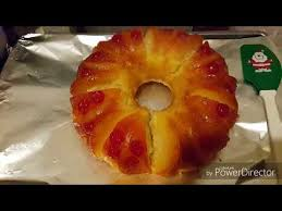 pineapple upside down bundt cake youtube