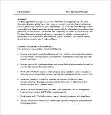 Business Owner Job Description For Resume Operation Manager Job Description Restaurant Operation Manager