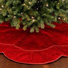 black christmas tree skirt pictures reference