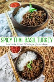 recette de cuisine weight watchers spicy basil ground turkey slender kitchen works for clean