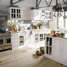 maisons du monde cuisine meuble haut vitré de cuisine en manguier ivoire l 70 cm maisons du