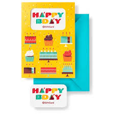 happy birthday gift card free greeting card target