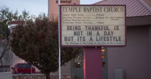 Church Sign Meme - temple baptist church falls prey to internet meme generator