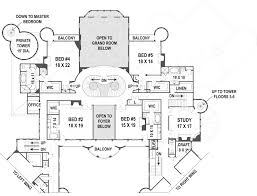 Double Master Bedroom Floor Plans by Balmoral Castle Plans Luxury Home Plans