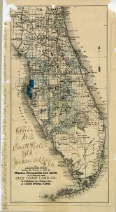 Tarpon Springs Florida Map by Florida Memory Map Florida Land Owned By Disston Company 1881