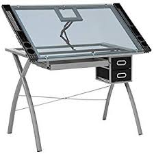 Draft Tables Best Choice Products Modern Adjustable Drafting Table