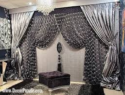 Black Drapery Fabric Top 20 Luxury Classic Curtains And Drapes Designs 2017