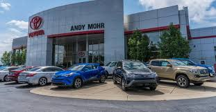 toyota dealerships nearby used car dealer near me andy mohr toyota