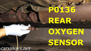 lexus gs430 p0420 rear oxygen sensor after catalytic converter replacement p0136