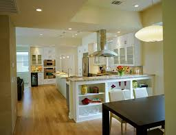 Open Kitchen Dining Room Open Kitchen And Living Room Design Ideas