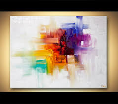 abstract handmade painting modern contemporary original abstract paintings by osnat colorful contemporary