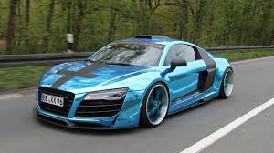 audi r8 wrapped audi r8 gets flashy new looks and more power from performance