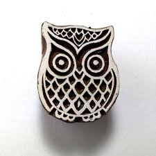 owl stamp for fabric printing u2013 desicrafts