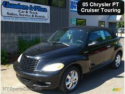 2005 chrysler pt cruiser touring turbo convertible in black