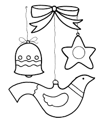 learning christmas coloring pages christmas ornaments