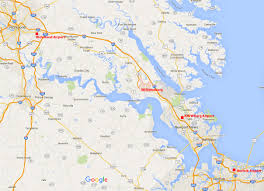 Map Of Williamsburg Va 21st Ieee Real Time Conference Colonial Williamsburg 9 15 June
