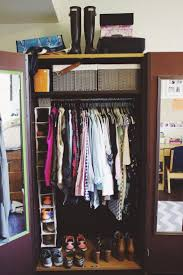Best Closet Organizers Best 25 College Closet Ideas On Pinterest College Apartment