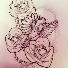 bird robin roses tattoo inspirations pinterest robins