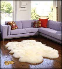 Fur Area Rug Fur Accents Sheepskin Area Rug Quatro Design Shaggy Faux Fur