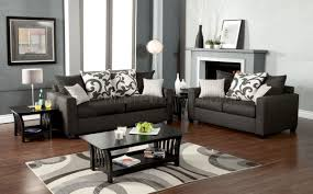 grey fabric modern living room sectional sofa w wooden legs colebrook sofa sm3010 in medium gray fabric w options