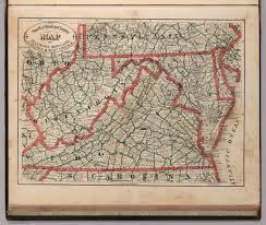West Virginia Road Map by New Rail Road And County Map Of Deleware Delaware Maryland