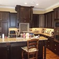 Kitchen Cabinet Stain Ideas Our Kitchen Cabinets Knotty Alder In Walnut Stain Not Exact