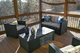 Outdoor Side Table Ideas by Accessories Extraordinary Porch And Deck Decoration With Porch