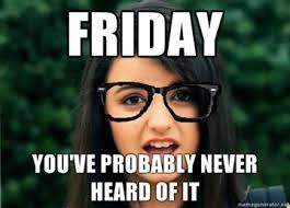 Rebecca Meme Images - image 106873 rebecca black friday know your meme