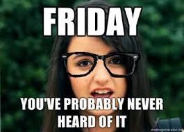 Rebecca Meme Images - image 106873 rebecca black friday know your meme