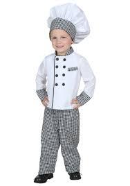 chef costume toddler chef costume