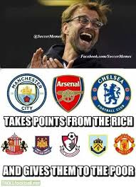 Premier League Memes - the robin hood of the premier league troll football