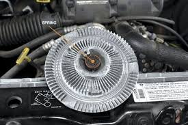 2003 chevy trailblazer fan clutch problem fan clutch replacement